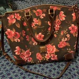 Dooney and Burke Floral Purse